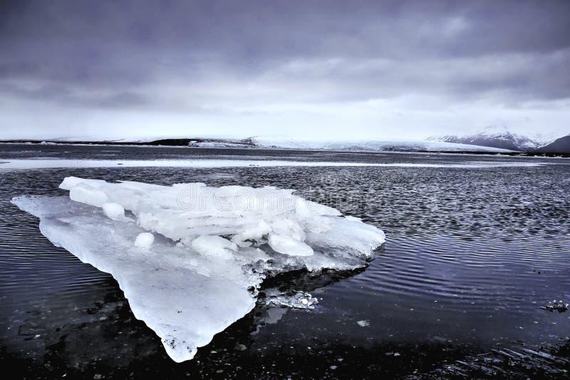 Lód na lodowu obrazy royalty free
