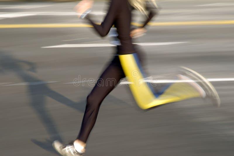 Download Löpare fotografering för bildbyråer. Bild av sportive, körning - 512263