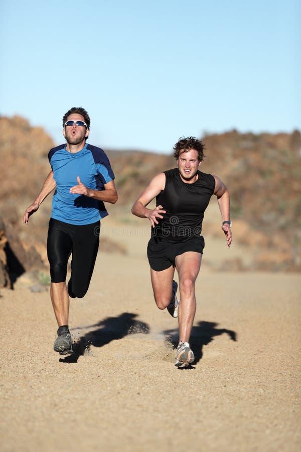 Löpare - sprinta för manar fotografering för bildbyråer