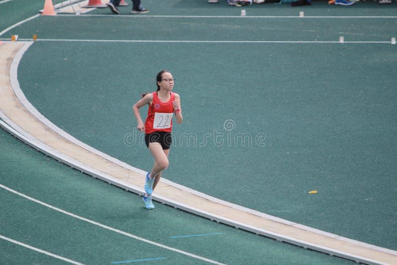Löpartävlingar under den 6th Hong Kong Games arkivbild