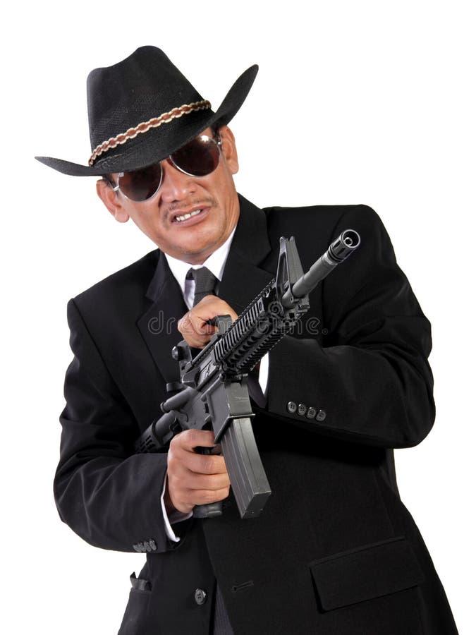 Lös lös västra gangster arkivfoton