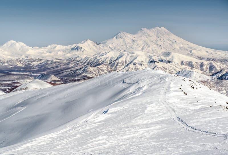 Lös natur av Kamchatka royaltyfri foto