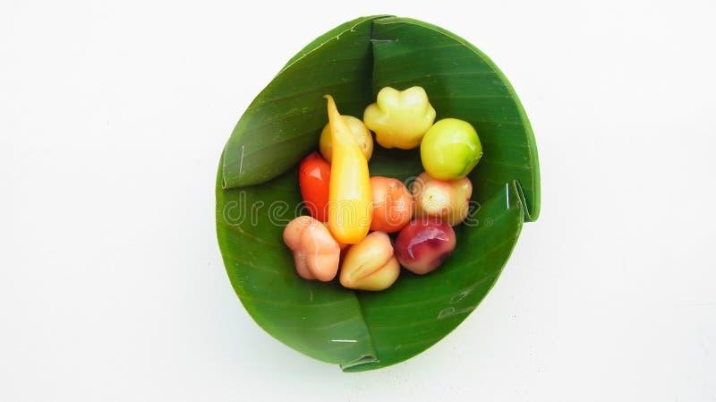 Löschbare nachgemachte Frucht lizenzfreie stockfotografie