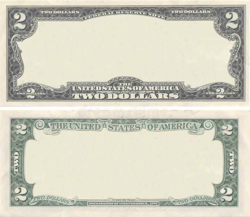 Löschen Sie 2-Dollar-Banknotemuster Stockbild - Bild von geschäft ...
