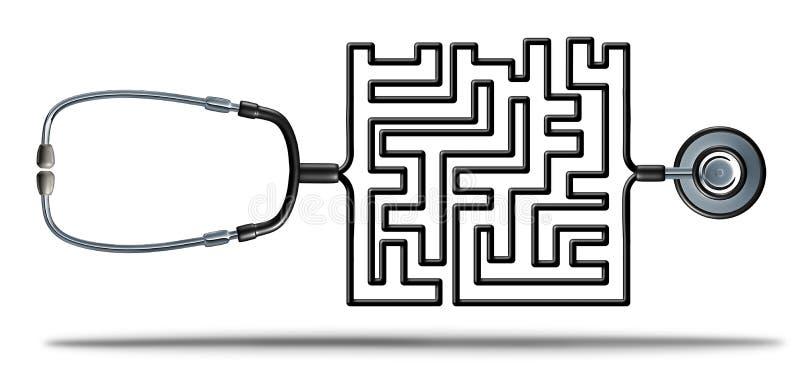 Lösen des Gesundheitswesens stock abbildung