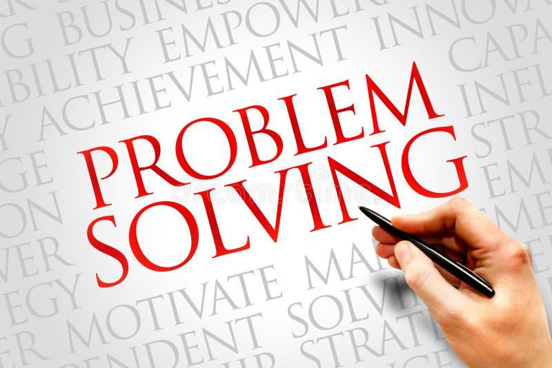 Lösen von Problemen lizenzfreies stockbild