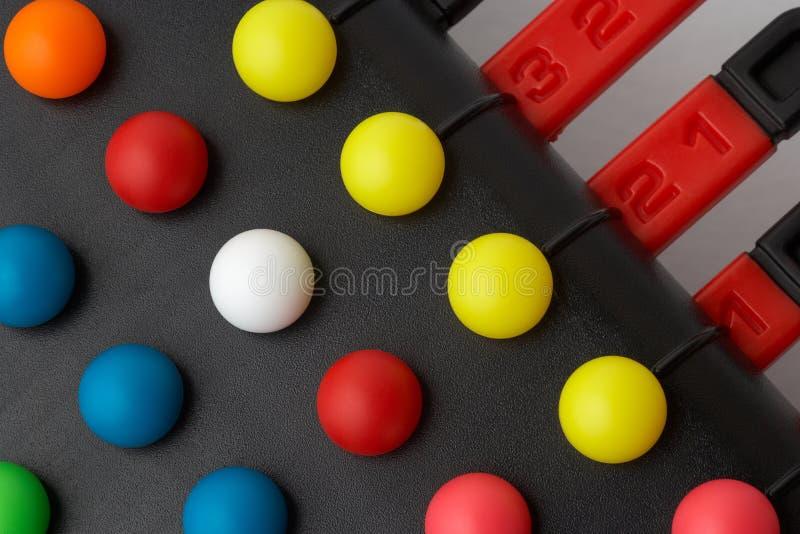 Lösen- von Problemenpuzzlespielspiel stockfoto