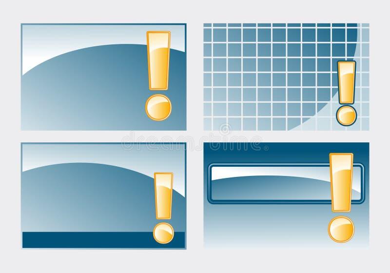 lösningar stock illustrationer