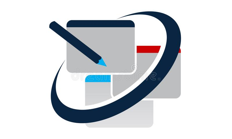 Lösningar för rengöringsdukdesign vektor illustrationer