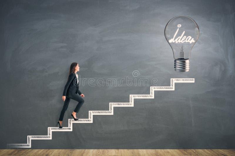 Lösnings- och innovationbegrepp royaltyfri fotografi