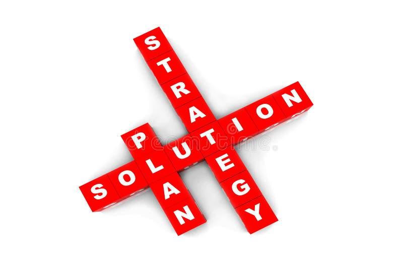 Download Lösningskorsord stock illustrationer. Illustration av affär - 27278336