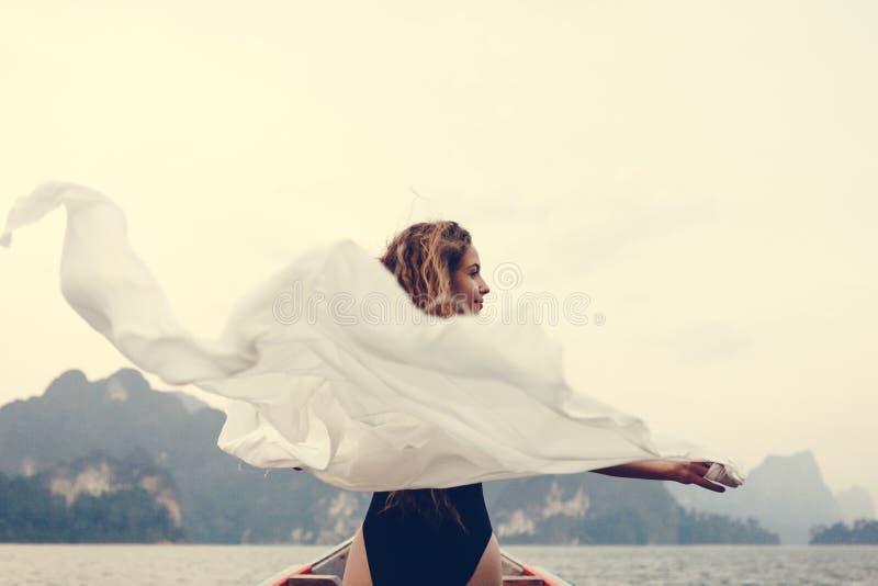 Löst och frigör som vinden arkivfoton