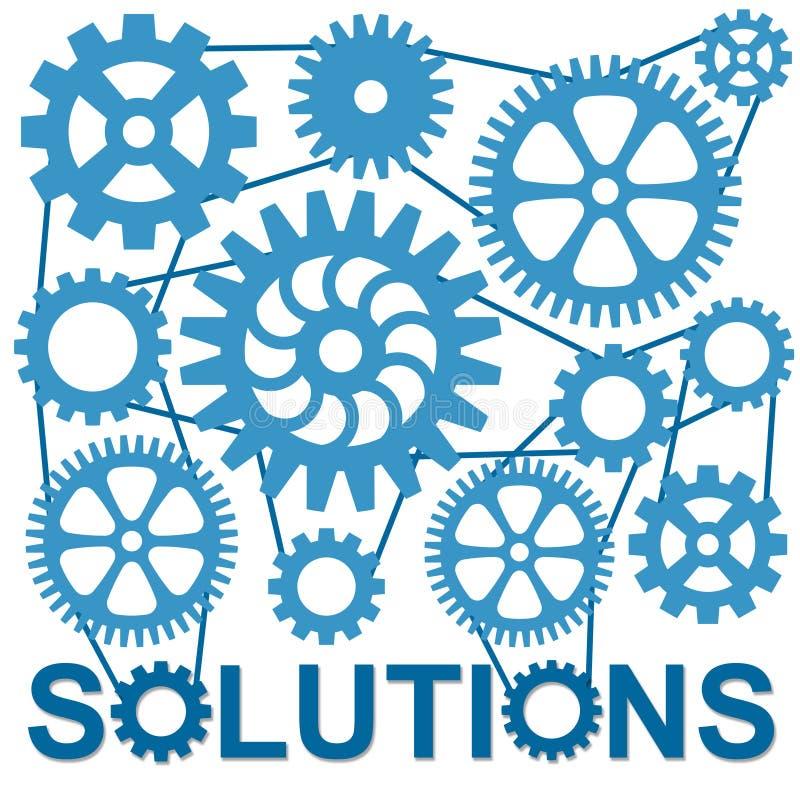 Lösungen lizenzfreie abbildung