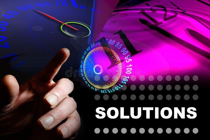 Lösungen stockfoto