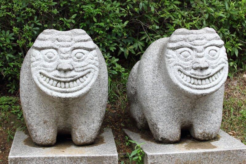 Löwe ähnliches Geschöpf Haechi, Symbol von Seoul lizenzfreie stockfotografie