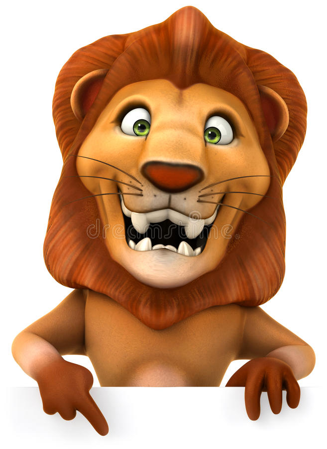 Löwe vektor abbildung