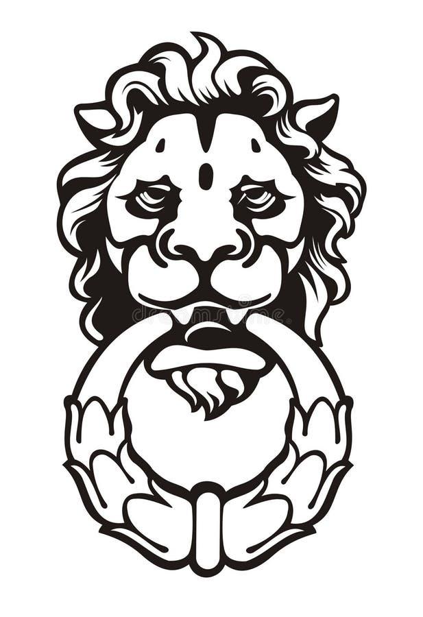 Löwe lizenzfreie stockfotos