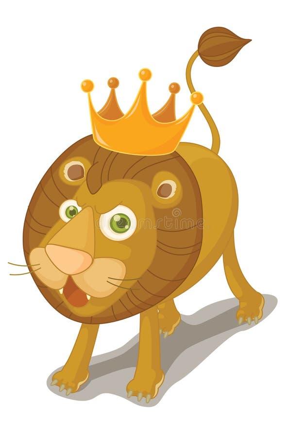 Löwe lizenzfreie abbildung