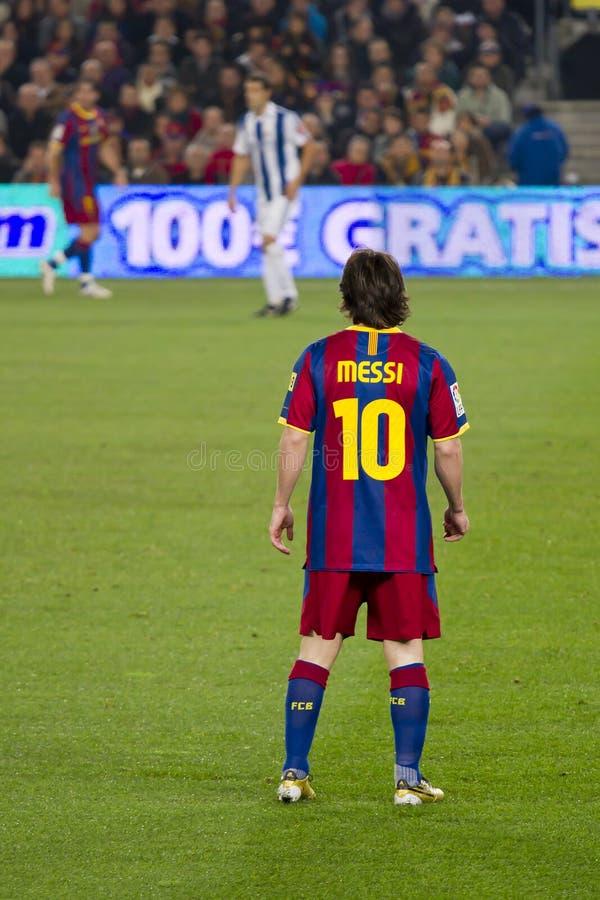 Löwe Messi (FC Barcelona) stockfoto