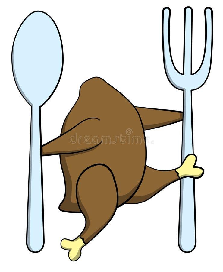 Lúpulo de Turquia ilustração stock