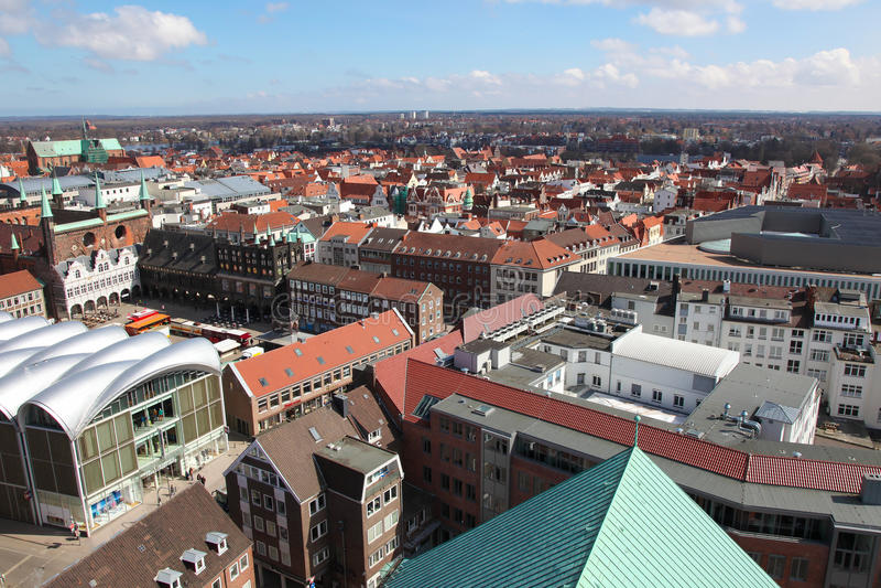 Lübeck royalty-vrije stock foto's
