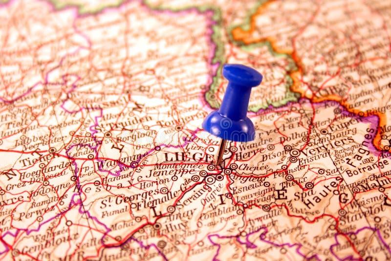Lüttich, Belgien lizenzfreie stockbilder
