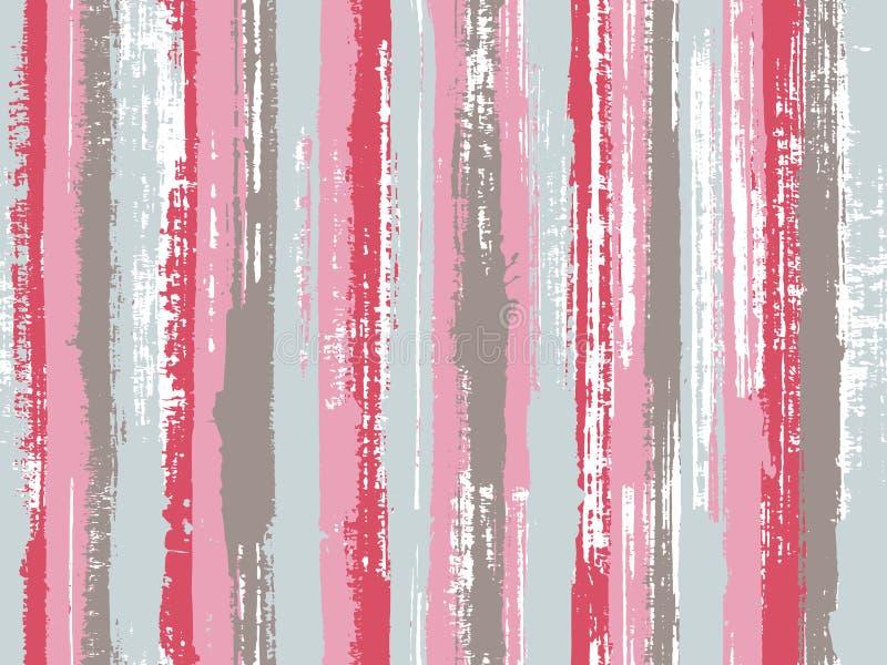 Lągu atrament wykłada tkanina bezszwowego deseniowego druk ilustracja wektor