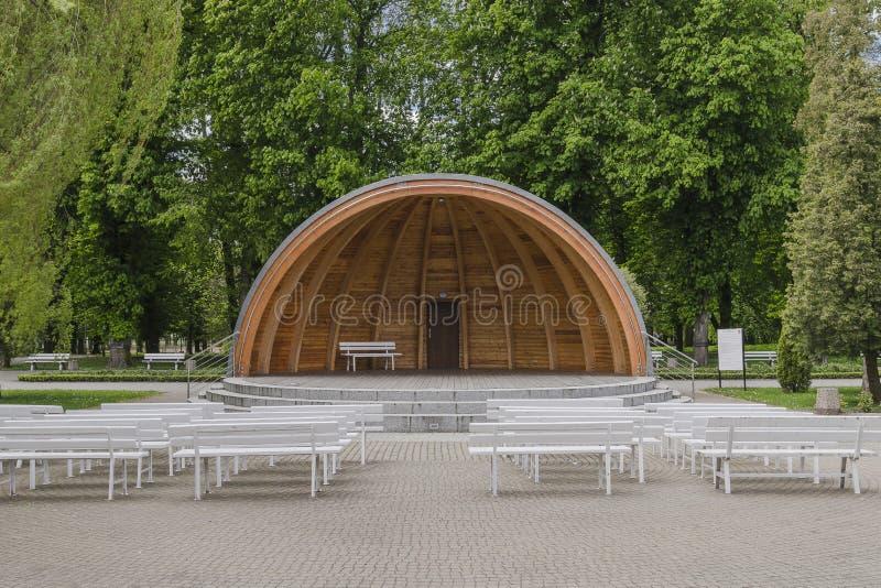 Lągu Shell bandstand fotografia royalty free