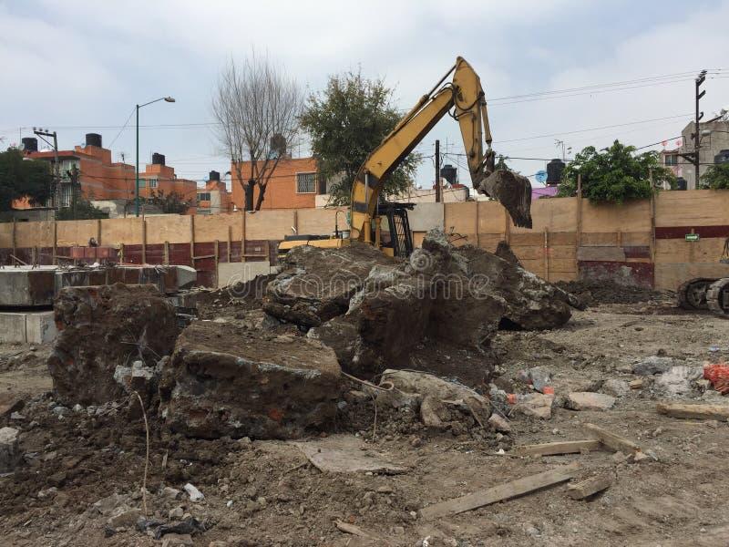 L'âme de l'excavation image libre de droits
