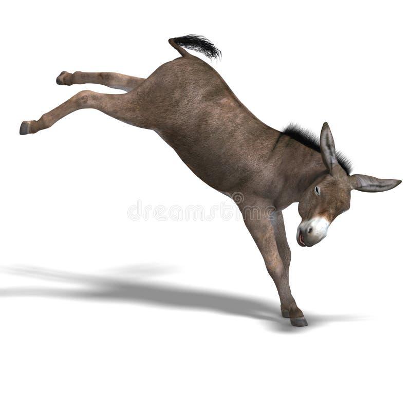 l'âne rendent illustration libre de droits