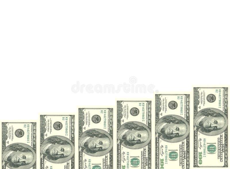 L'échelle de l'argent qui se développe jour après jour images libres de droits