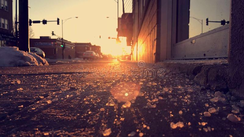 L'éclat de Sun est ce qui garde ce monde photos stock