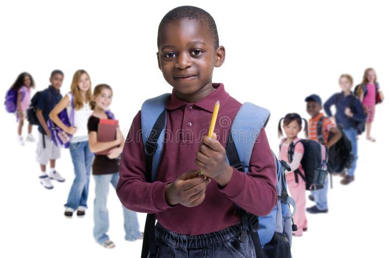 L école Badine La Diversité Photos stock