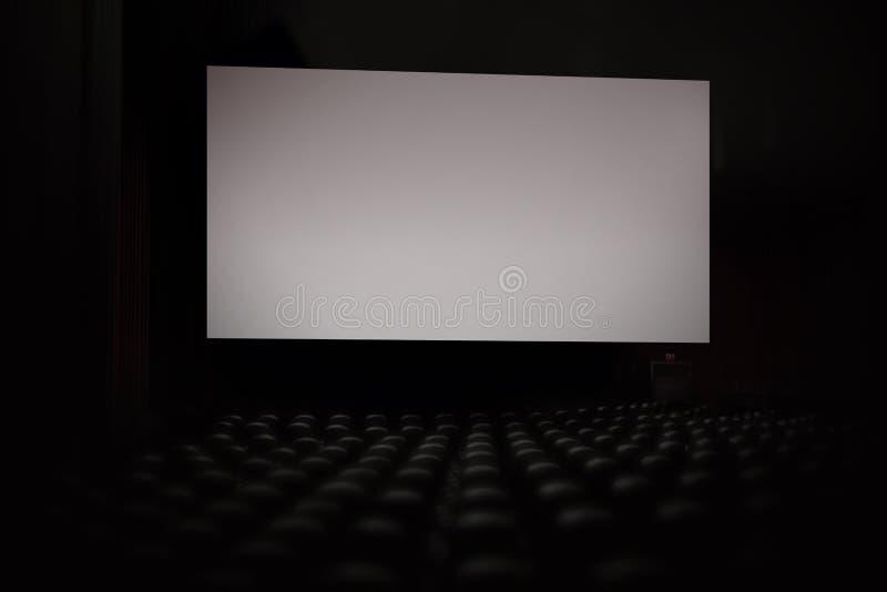 L'écran argenté à la pièce de criblage photographie stock