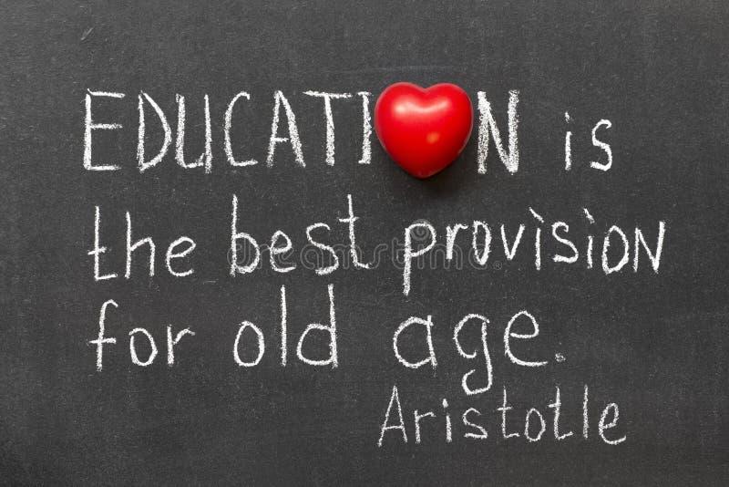 L'éducation est image stock