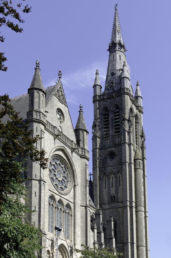 L'église Arlon de St Martin photos stock