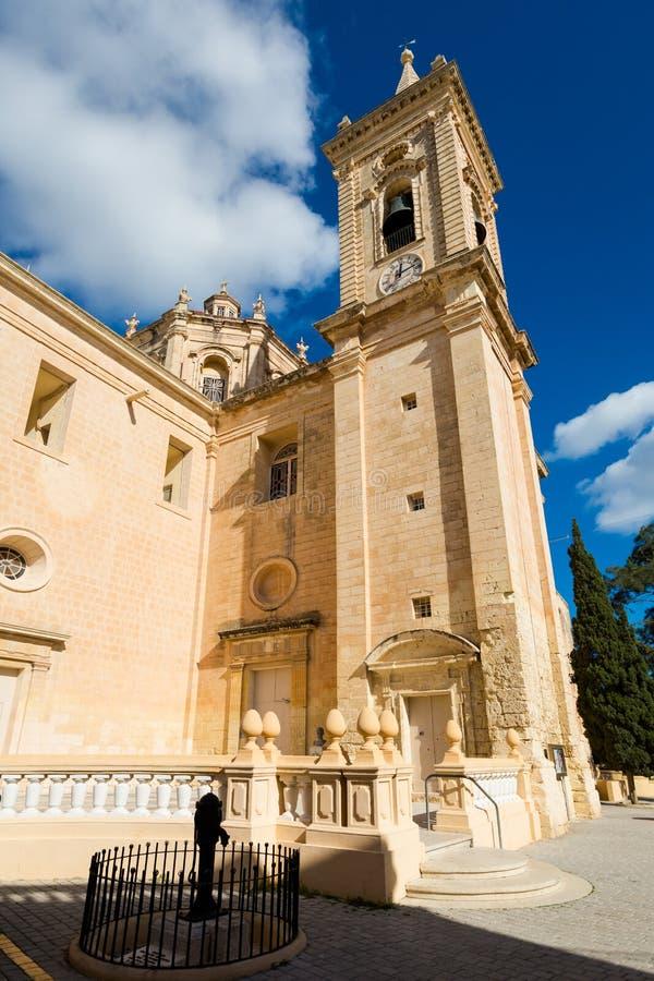 L'église Balzan Malte de Parich images stock