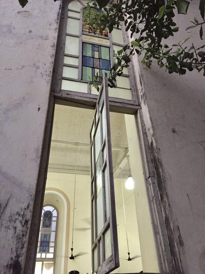 L'église Bandra, architecture portugaise de St Andrew photo stock
