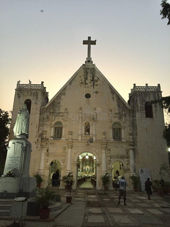 L'église Bandra, architecture portugaise de St Andrew photos stock