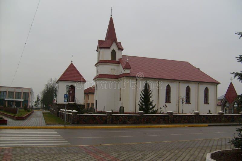 l'église catholique image stock