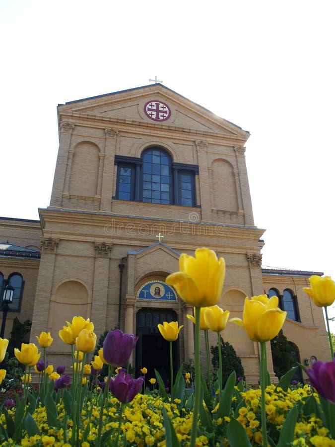 L'église commémorative de la tombe sainte photo libre de droits