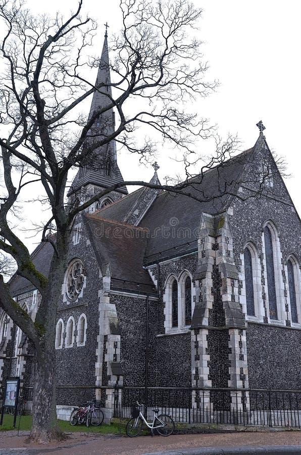 L'église copenaghen dedans photo stock