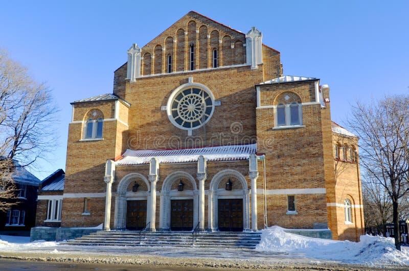 L'église d'Adventiste de Septième-jour de Westmount photo libre de droits
