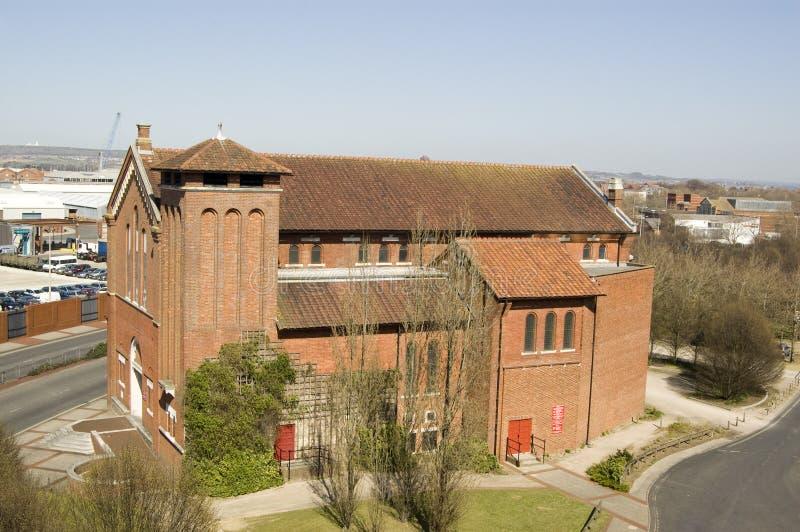 L église D Agatha De Saint, Portsmouth Photo libre de droits