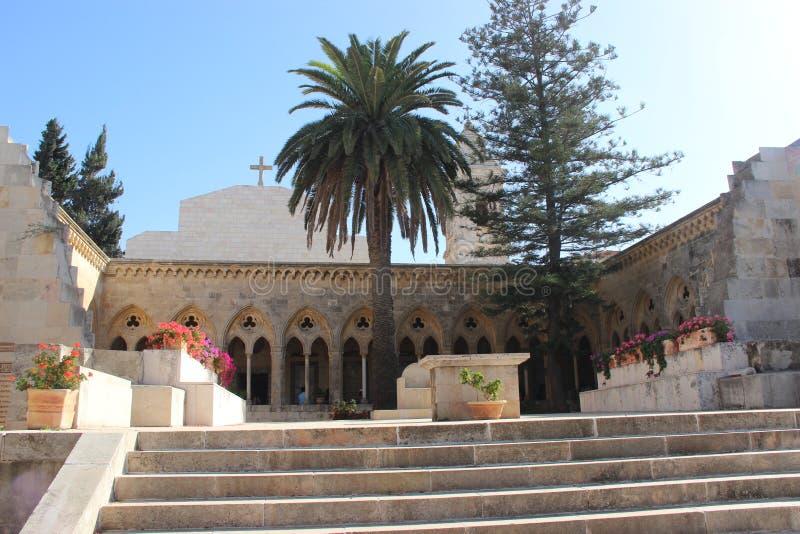 L'église dans le Jerusalém images stock