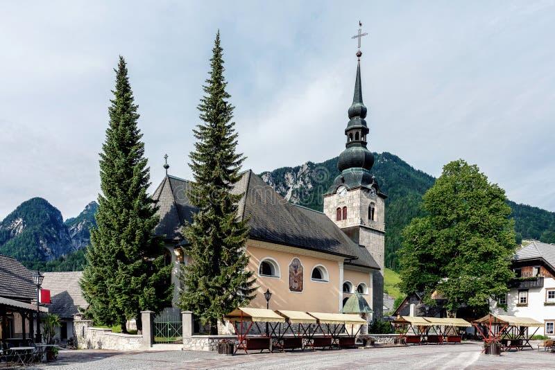 L'église de l'acceptation de Vierge Marie photo libre de droits