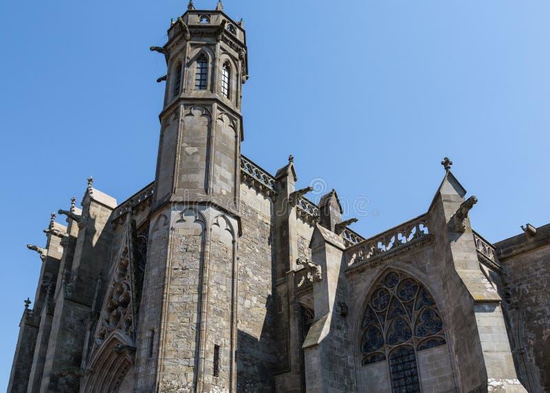 L'église de Carcassonne photos stock