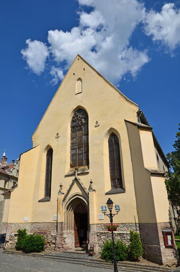 L'église de cloître, Sighisoara, Roumanie photo libre de droits