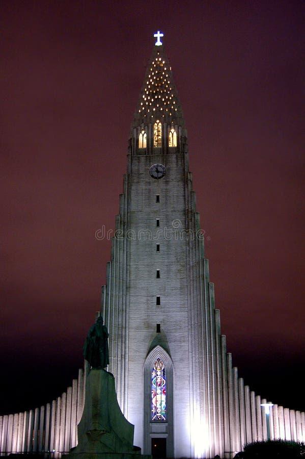 L'église de Hallgrim image stock