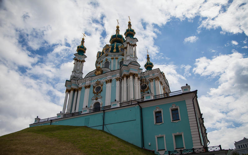 L'église de l'Andrew de saint photos libres de droits